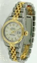 Rolex Datejust Ladies 179173 White Dial Watch