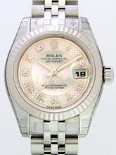 Rolex Datejust Ladies 179174 Stainless Steel Case Watch