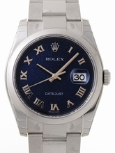Rolex Datejust Men's 116200 Blue Dial Watch