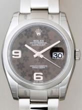 Rolex Datejust Men's 116200 Grey Dial Watch