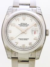 Rolex Datejust Men's 116200 Silver Band Watch