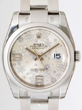Rolex Datejust Men's 116200 Silver Dial Watch