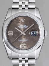 Rolex Datejust Men's 116200 Stainless Steel Band Watch