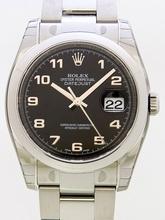 Rolex Datejust Men's 116200BKAO Mens Watch