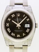Rolex Datejust Men's 116200BKSBRO Mens Watch