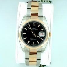 Rolex Datejust Men's 116201 Stainless Steel Band Watch