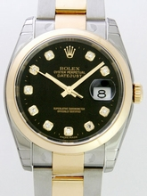 Rolex Datejust Men's 116203 Black Dial Watch