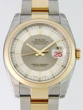 Rolex Datejust Men's 116203 Silver Dial Watch