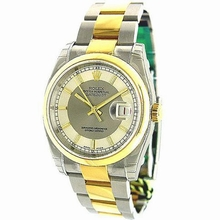 Rolex Datejust Men's 116203 Stainless Steel Band Watch