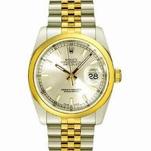 Rolex Datejust Men's 116203 Yellow Band Watch