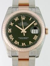 Rolex Datejust Men's 116231 Black Dial Watch