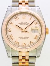 Rolex Datejust Men's 116231 Rose Dial Watch