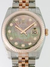 Rolex Datejust Men's 116231 Stainless Steel Band Watch