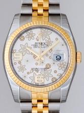 Rolex Datejust Men's 116233 Silver Dial Watch