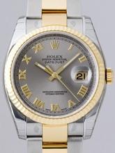 Rolex Datejust Men's 116233 Stainless Steel Band Watch