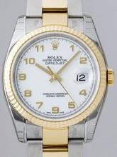 Rolex Datejust Men's 116233 White Dial Watch