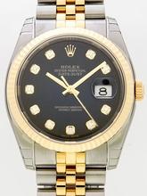 Rolex Datejust Men's 116233BKDJ Mens Watch