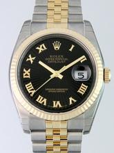 Rolex Datejust Men's 116233BKSBRJ Mens Watch