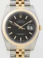 Rolex Datejust Men's 116233BKSJ Mens Watch