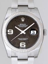 Rolex Datejust Men's 116234 Grey Dial Watch