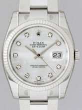 Rolex Datejust Men's 116234 Silver Band Watch