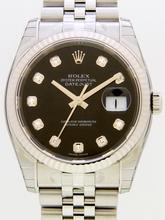 Rolex Datejust Men's 116234 Stainless Steel Bezel Watch