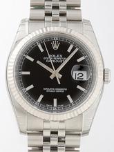 Rolex Datejust Men's 116234BKSJ Mens Watch