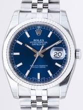 Rolex Datejust Men's 116234BLSJ Mens Watch