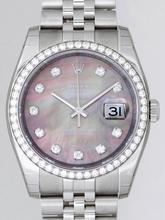 Rolex Datejust Men's 116244 Grey Dial Watch