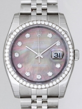 Rolex Datejust Men's 116244 Stainless Steel Band Watch