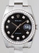 Rolex Datejust Men's 116244 Stainless Steel Case Watch