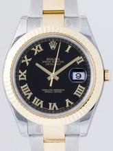 Rolex Datejust Men's 116333 Black Dial Watch