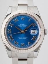 Rolex Datejust Midsize 116334BLRO Mens Watch