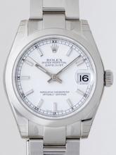 Rolex Datejust Midsize 178240WSO Unisex Watch