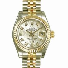 Rolex Datejust Midsize 178273 Diamond Dial Watch