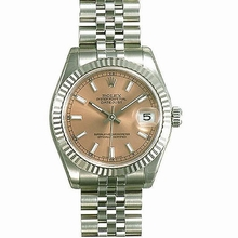 Rolex Datejust Midsize 178274 Beige Dial Watch