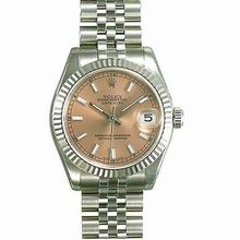 Rolex Datejust Midsize 178274 Beige Dial Watch