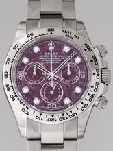 Rolex Daytona 116509 Purple Dial Watch