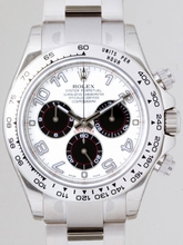 Rolex Daytona 116509 White Dial Watch