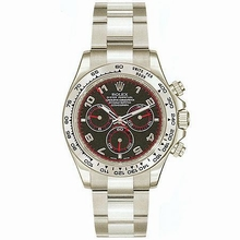 Rolex Daytona 116509 White Gold Case Watch