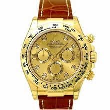 Rolex Daytona 116518 Diamond Dial Watch
