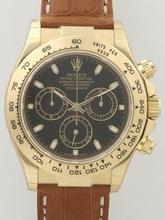 Rolex Daytona 116518 Leather Band Watch