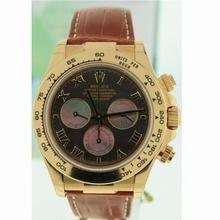 Rolex Daytona 116518 Yellow Gold Bezel Watch