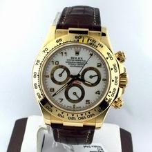 Rolex Daytona 116518 Yellow Gold Case Watch