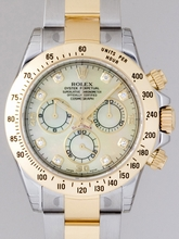 Rolex Daytona 116523 Yellow Dial Watch