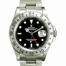Rolex Explorer 16570 Beige Band Watch