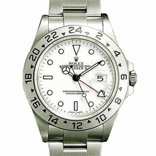 Rolex Explorer 16570 White Dial Watch
