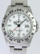 Rolex Explorer 16570W Mens Watch