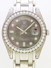 Rolex Masterpiece 18946 Black Dial Watch