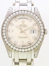 Rolex Masterpiece 18946 Blue Dial Watch